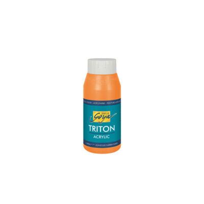 Kreul Solo Goya Triton akrilfesték, 750 ml - 02, genuine deep orange