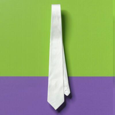 Selyem nyakkendő, IDE, férfi, 142x9,5cm, pongé8, I