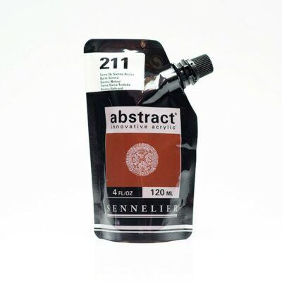 Sennelier Abstract akrilfesték Burnt sienna 211