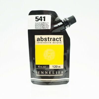 Sennelier Abstract akrilfesték Cadmmium yellow medium hue 541