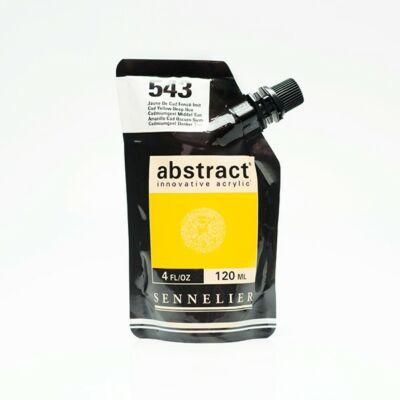 Sennelier Abstract akrilfesték Cadmium yellow deep hue 543
