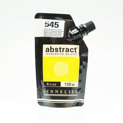 Sennelier Abstract akrilfesték Cadmium yellow lemon hue 545