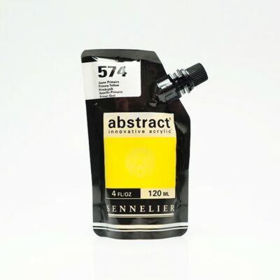 Sennelier Abstract akrilfesték Primary yellow 574