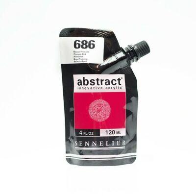 Sennelier Abstract akrilfesték Primary red 686