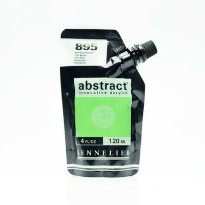 Sennelier Abstract akrilfesték Fluorescent green 895