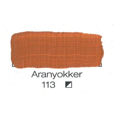 Pannoncolor akril 38 ml-es aranyokker 113