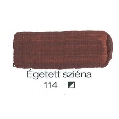 Pannoncolor akril 38 ml-es égetett sziena 114