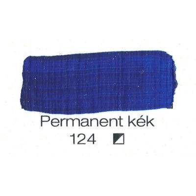 Pannoncolor akril 38 ml-es permanent kék 124