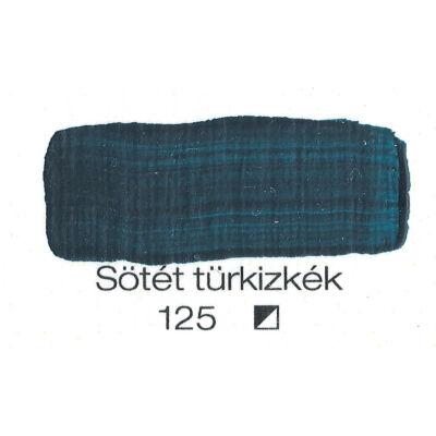 Pannoncolor akril 38 ml-es sötét türkizkék 125