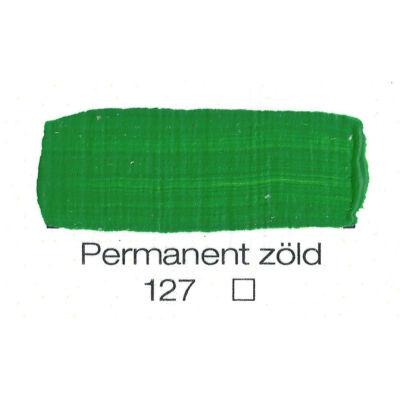 Pannoncolor akril 38 ml-es permanent közép zöld 127