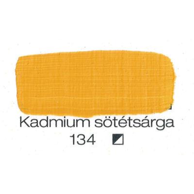 Pannoncolor akril 38 ml-es kadmium sötétsárga 134