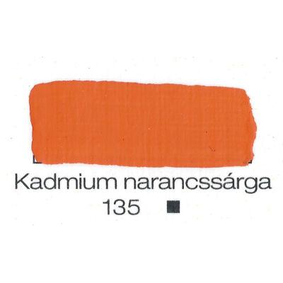 Pannoncolor akril 38 ml-es kadmium narancs 135
