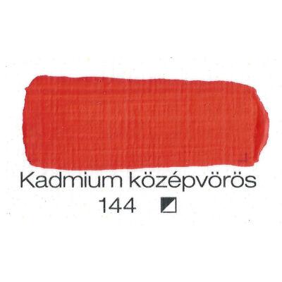 Pannoncolor akril 38 ml-es kadmium középvörös 144