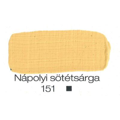 Pannoncolor akril 38 ml-es nápolyi sötétsárga 151