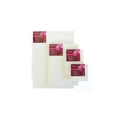 Q-art feszített festővászon, 280 g, pamut+szintetikus, 20x20 cm