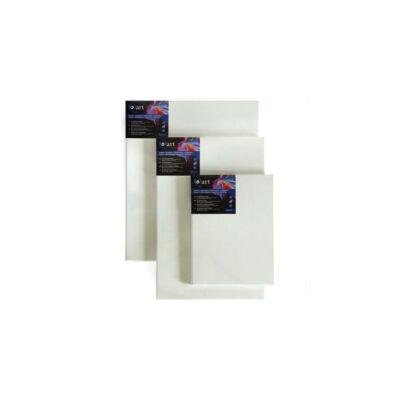 Q-art feszített festővászon, 330 g, pamut+szintetikus, 100x100 cm, 2x4,5 cm ékráma